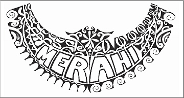 Merahi Sticker